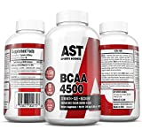 Cheap BCAA 4500 – Branched Chain Amino Acids – For Fast Muscle Energy, Growth, Strength and Ultra-Fast Recovery – 462 Capsules (66 servings) AST Sports Science