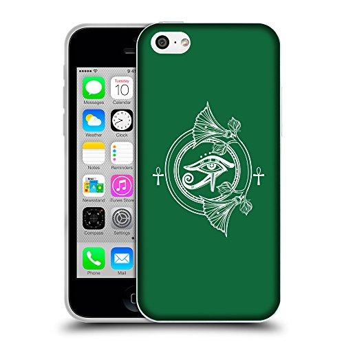 GoGoMobile Coque de Protection TPU Silicone Case pour // Q09870622 Religion 27 Cadmium vert // Apple iPhone 5C