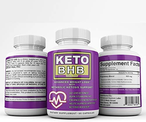 Keto BHB and ACV Real PRO - Organic Apple Cider Vinegar with Mother Capsules - Keto Advanced Weight Loss Supplement - 1 Month Combo 9