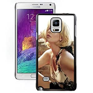 New Personalized Custom Designed For Samsung Galaxy Note 4 N910A N910T N910P N910V N910R4 Phone Case For Charlize Theron Phone Case Cover