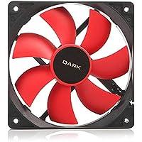 Dark DKCCF123R 12cm Kırmızı Kanatlı Kasa Fanı