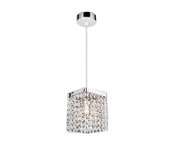 Amazon.com: ATD Moderno rectángulo K9 Cristal Raindrop ...