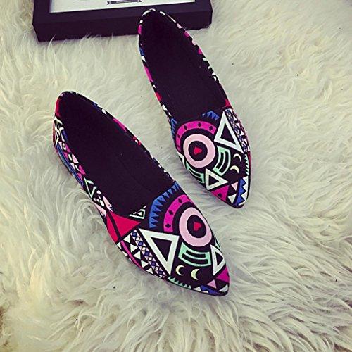 Multicolor Temporadas On Slip para Antideslizante Las Casual Zapatos Barco Sannysis Mocasines Zapatos Mujer Flats Mujer Ballet Pajarita Multicolor Flats Zapatos Sandalias Zapatos Todas xw0XxB8qg