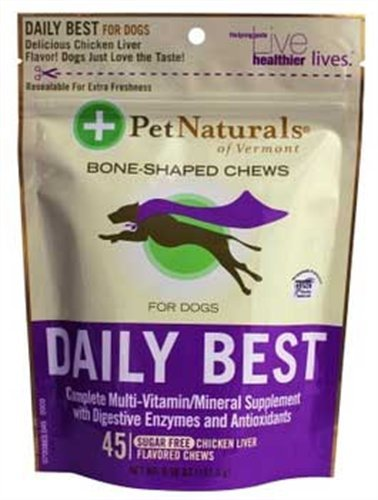 Pet Naturals Daily Best for Dogs (45 count), My Pet Supplies