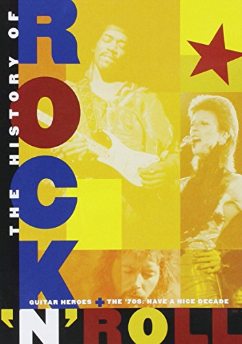 Roll Card Music N Rock - The History of Rock 'n' Roll: Guitar Heroes & The '70s (Have a Nice Decade)