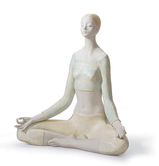 LLADRÓ Figura Yoga I. Mujer de Porcelana: Amazon.es: Hogar