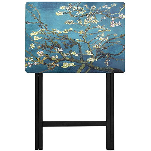 Oriental Furniture Van Gogh Almond Blossoms TV Tray by ORIENTAL FURNITURE (Image #1)