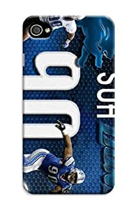 Iphone 6 Plus Protective Case,Beautiful Football Iphone 6 Plus Case/Detroit Lions Designed Iphone 6 Plus Hard Case/Nfl Hard Case Cover Skin for Iphone 6 Plus