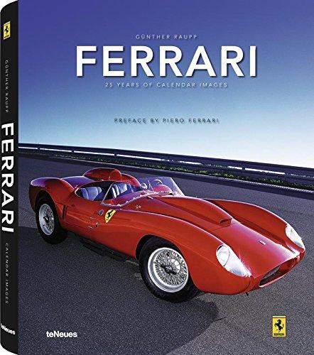 Ferrari: 25 Years of Calendar - Italy Shop Ferrari