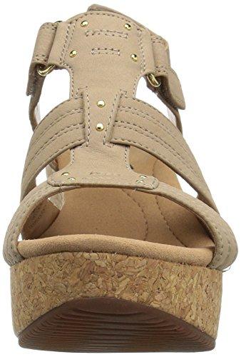 Clarks Kvinna Annadel Orkidé Wedge Sandal Sand