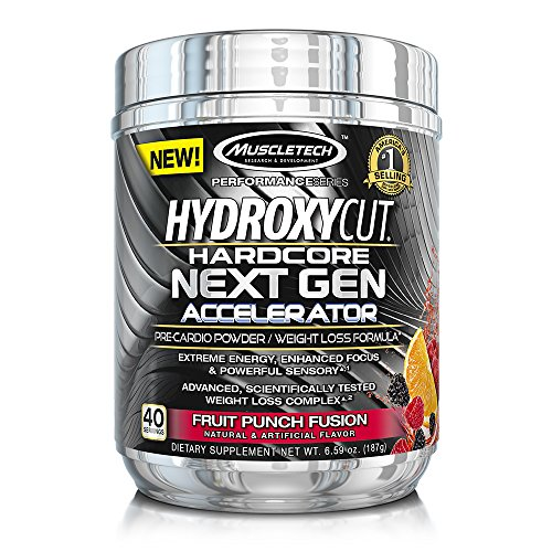 MuscleTech Hydroxycut Hardcore Pre Cardio Servings
