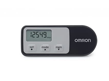OMRON Walking Style One 2.1 - Podómetro, color negro
