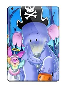 New Style AnnDavidson Hard Case Cover For Ipad Air- Pooh And Crew On Halloween
