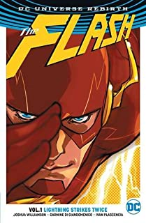 Book Cover: The Flash Vol. 1: Lightning Strikes Twice