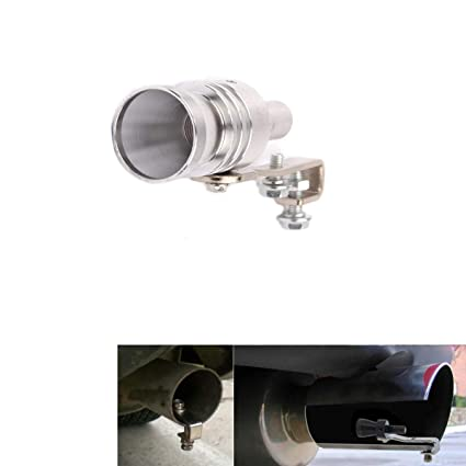 AutoBoy Car Turbo Sound Exhaust Muffler Pipe Whistle Blow Off Valve BOV Simulator Universal Fit for