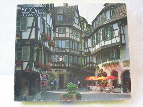 Whitman 500 Piece Jigsaw Puzzle - Grand Rue, France by Whitman Coins