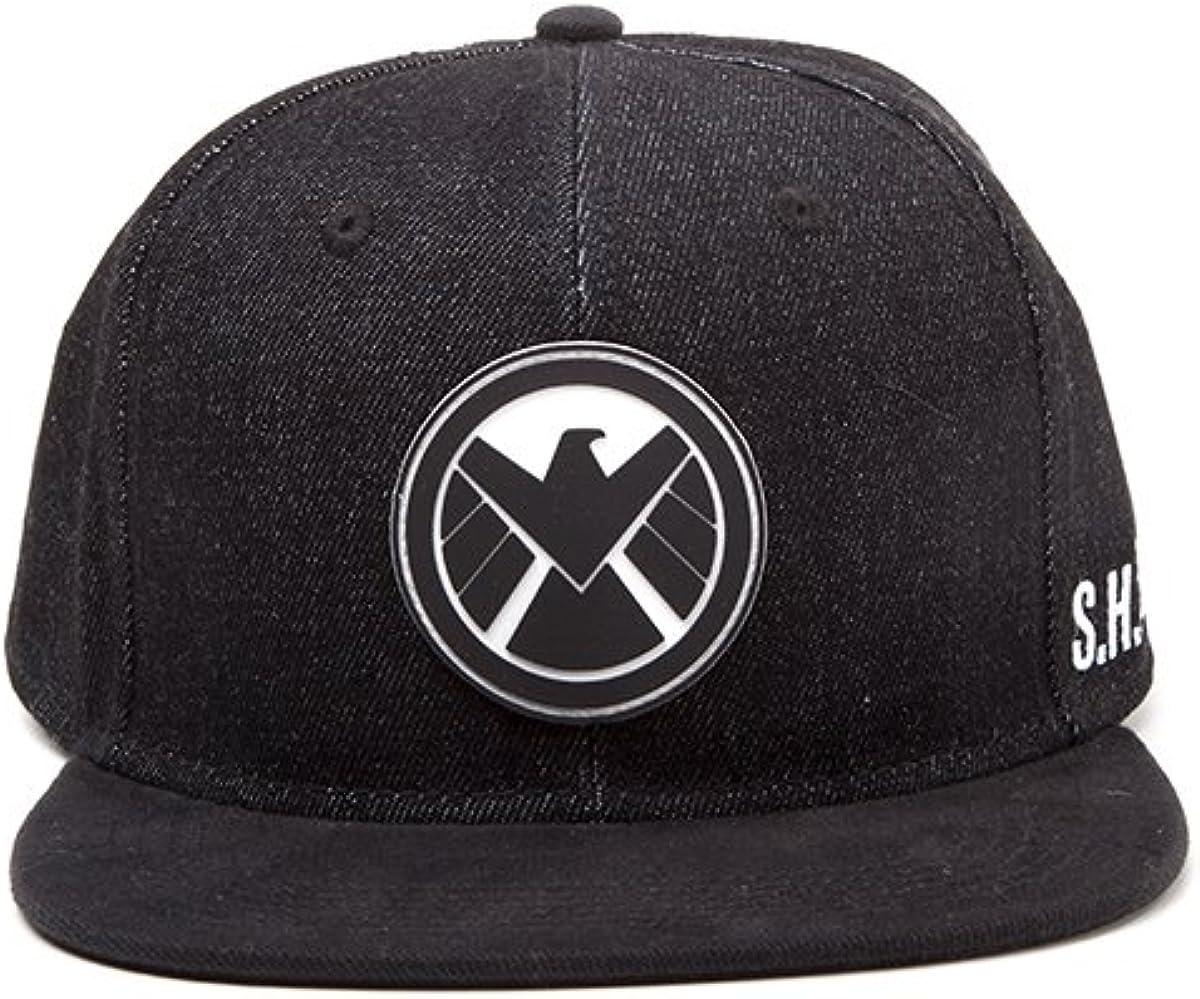 Meroncourt Marvel Comics Avengers Assemble Shield Logo Snapback ...