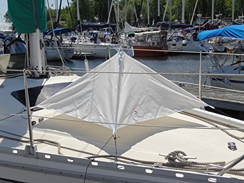 HATCH UMBRELLA FOR POWERBOAT AND SAILBOAT (OFF WHITE) by SOGEMAN
