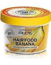 Garnier Fructis Garnier fructis mascarilla cabello natural vegana hair food banana Banana