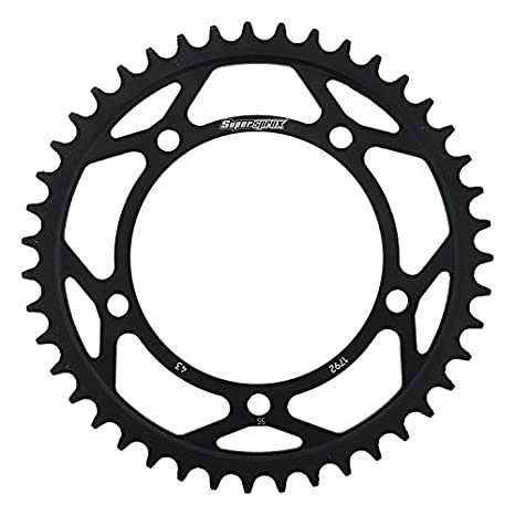 Amazon Com Supersprox Rfe 1792 43 Blk Rear Steel Sprocket Black For