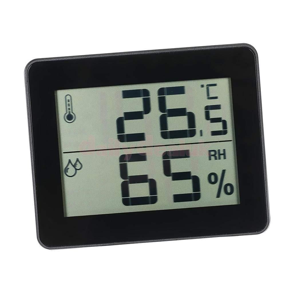 FidgetFidget LCD Digital Indoor Thermometer Hygrometer Temperature Humidity Meter