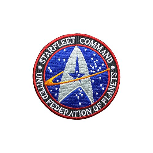 Star Trek patch Individuality Patch Embroidered Movie Iron On Sew On - Patches Star Trek