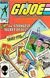 GI JOE #26 marvel comics FIRST PRINT 1984 origin of snake eyes and storm shadow