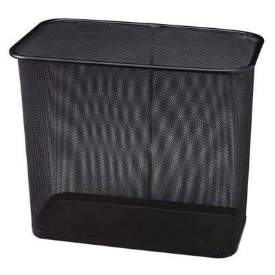 RCPWMB30RBK - United Receptacle Steel Mesh Rectangle -