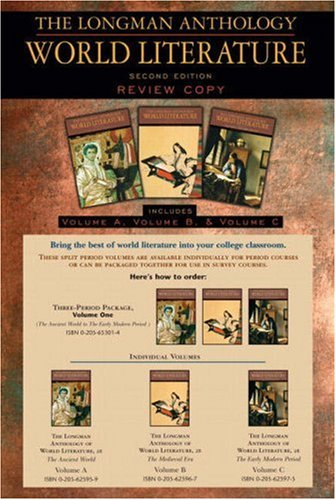 Longman Anth.World Lit. Vol.A,B,+C