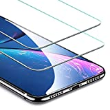ESR Screen Protector Compatible for iPhone XR [2 Pack], Premium Tempered Glass Screen Protector for iPhone XR 6.1 inch (2018)