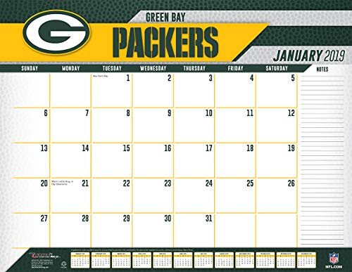 Turner Licensing Green Bay Packers 2019 Desk Calendar (19998061537) ()
