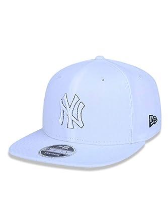 BONE 950 ORIGINAL FIT NEW YORK YANKEES MLB ABA RETA SNAPBACK BRANCO NEW ERA 084d0ee0305