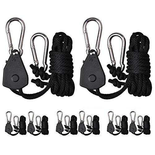 Zuggear 4 pairs 18 inch heavy duty rope ratchet hangers light zuggear 4 pairs 18 inch heavy duty rope ratchet hangers light ratchets tie aloadofball Images