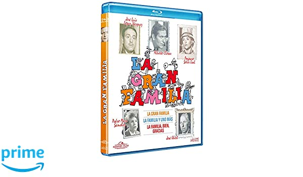 La gran familia (1, 2 y 3) [Blu-ray]: Amazon.es: Alberto ...