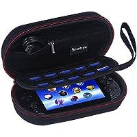 Smatree P100 bärväska kompatibel med PS Vita, PS Vita Slim , PSP 3000 (utan skydd) (konsol och tillbehör ingår ej)