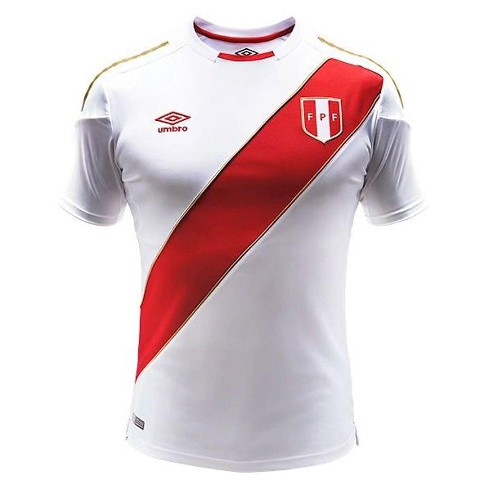 2018-2019 Peru Home Umbro Football Shirt (Kids) B07CVTPQGG Small Boys 26-27