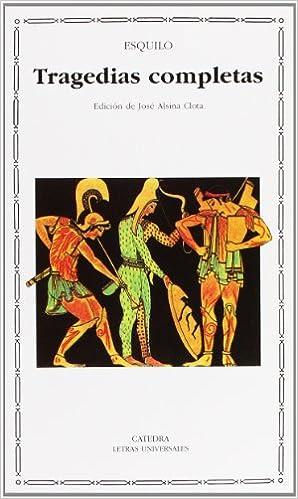 Book's Cover of Tragedias completas (Letras Universales) (Español) Tapa blanda – 12 julio 2005