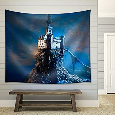 Made For You, Stunning Craft, Old Castle on The Hill Fabric Wall