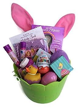 Classic easter gift basket girl themed chocolate and gifts classic easter gift basket girl themed chocolate and gifts fully assembled negle Gallery