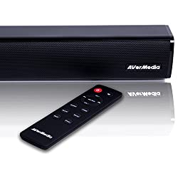 Avermedia Gs331 Sonicblast Gaming Soundbar With 2.0 Channel