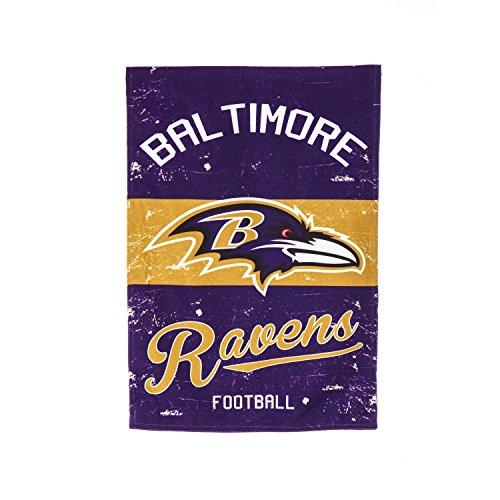 Team Sports America 14L3802VINT Baltimore Ravens Vintage Linen (Baltimore Ravens Garden Flag)