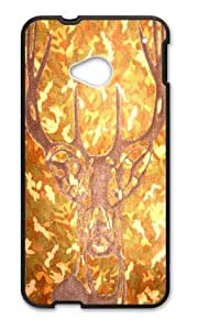 Deer Back Protector Cover Case for Htc One M7