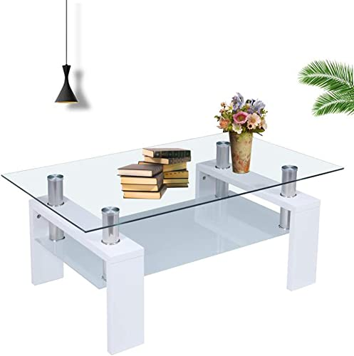 RICA-J Glass Coffee Table
