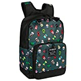 JINX Minecraft Bobble Mobs Kids School Backpack, Gray, 17'