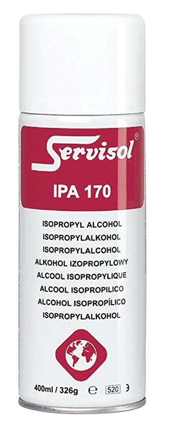 Servisol IPA 170 Isopropyl Alcohol for Electronic Cleaning
