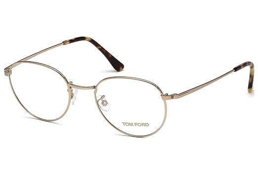 a28af2e17325b Amazon.com  TOM FORD Eyeglasses FT5328 028 Shiny Rose Gold 51MM  Clothing