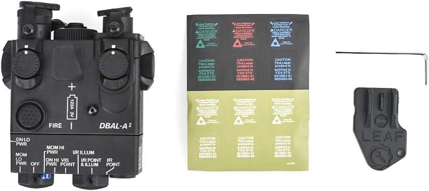WADSN Marine Joint PEQ-15A DBAL-A2 Batterie factice mod/èle de bo/îte PEQ pour Affichage Tactique Airsoft AEG