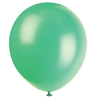 "12"" Latex Emerald Green Balloons, 72ct: Kitchen & Dining"