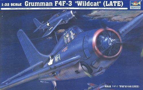 an F4F-3 Wildcat late version # 02225 by Trumpeter (Grumman F4f 3 Wildcat)