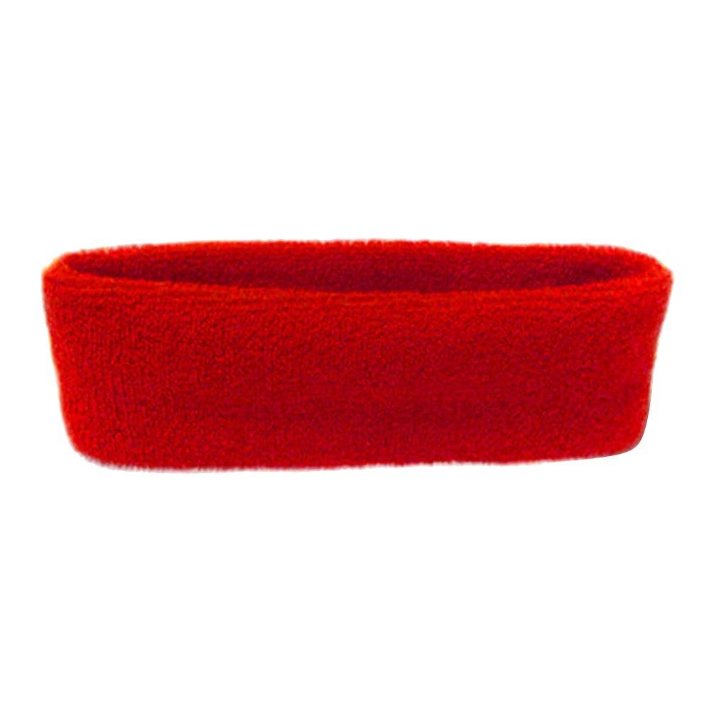 Profusion Circle Stretch Elastic Cotton Headband for Women Men Sports Running Yoga Gym Headband Sweatband